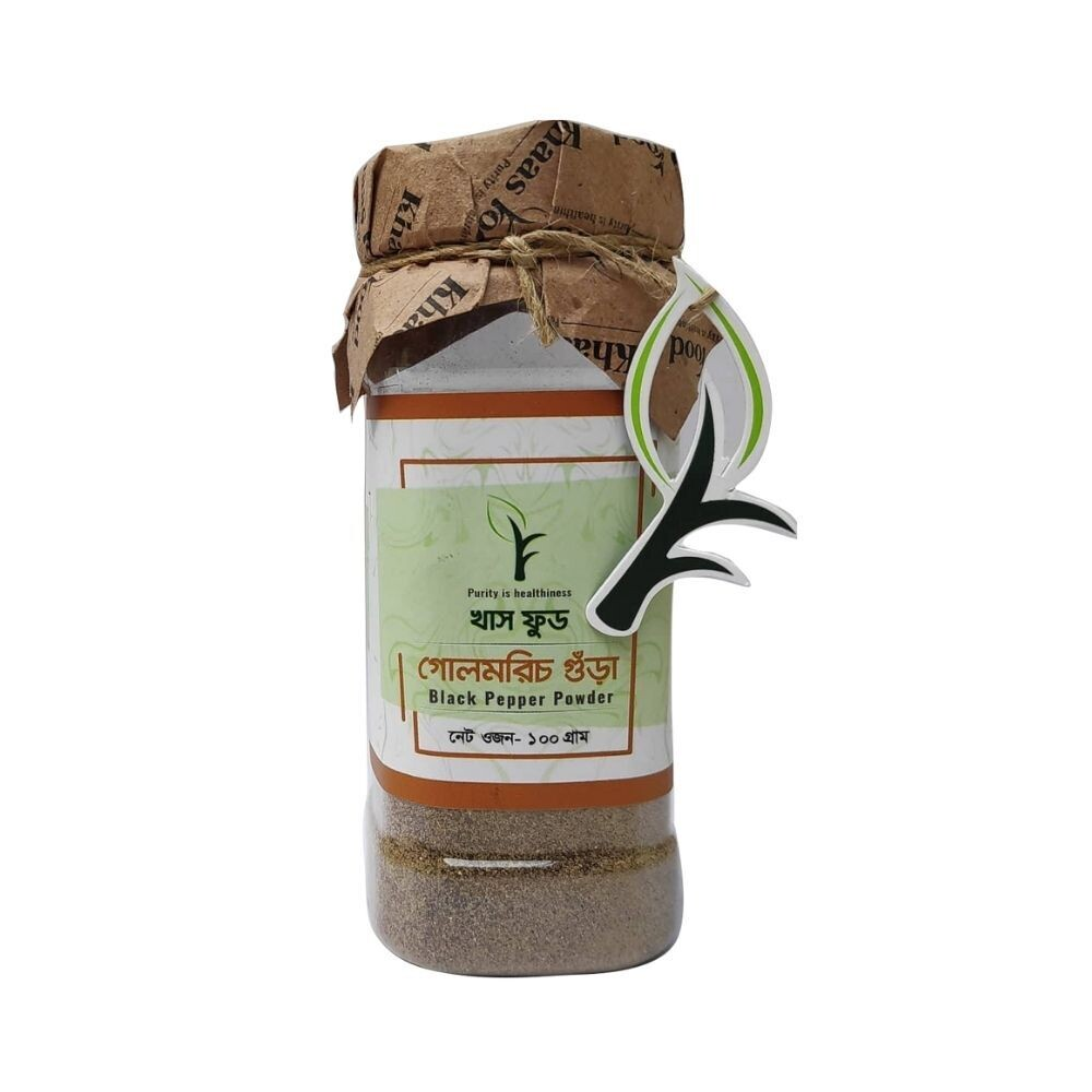 Khaas Food Black Pepper Powder 100gm