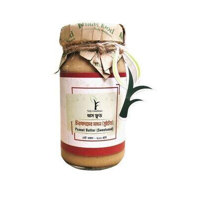 Khaas Food Peanut Butter (Sweetened) 200gm