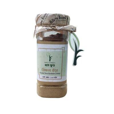 Khaas Food Three Myrobalan Powder(Trifola) 100gm