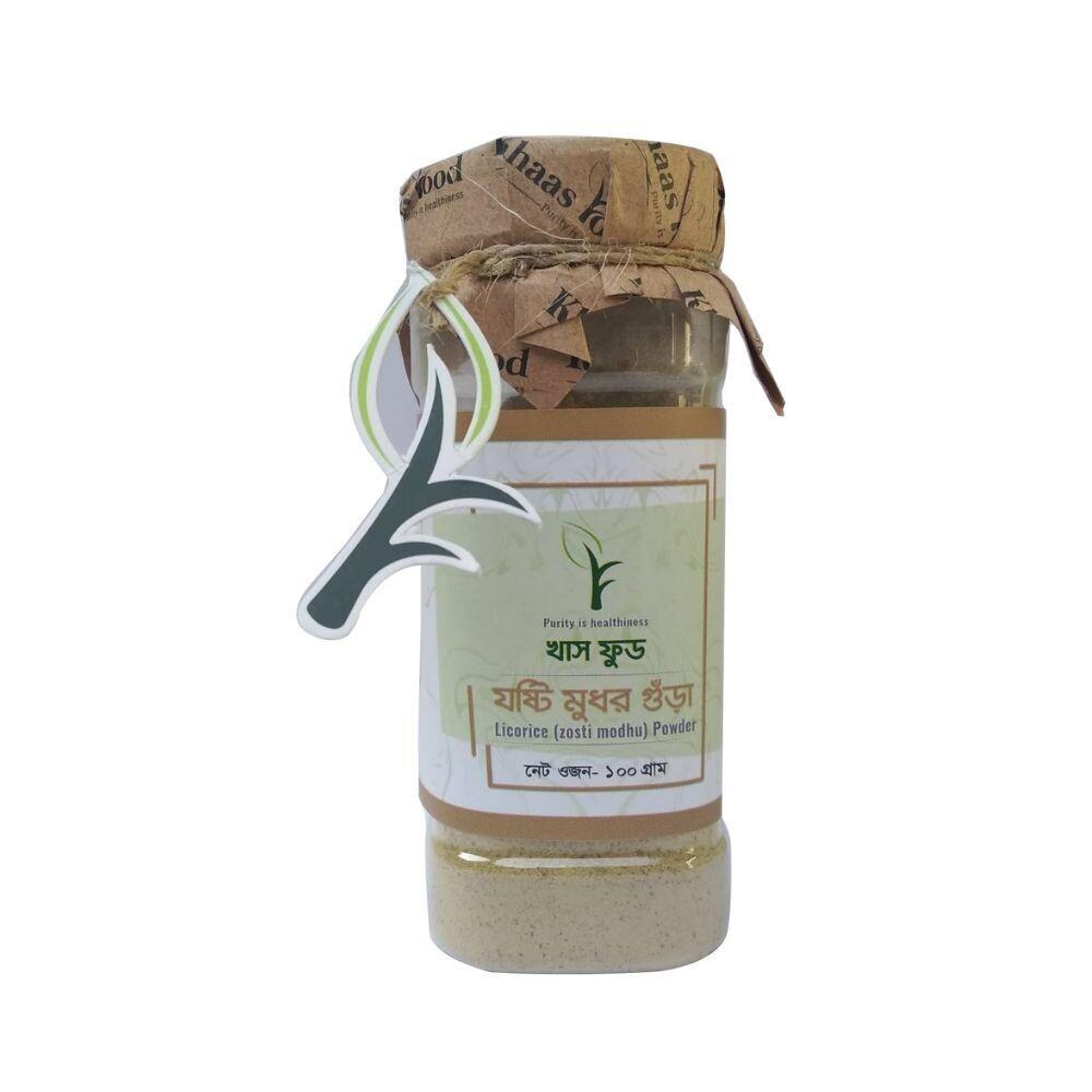 Khaas Food Licorice Powder(Zosti Modhu) 100gm