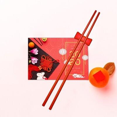 Japanese Chopstick Red
