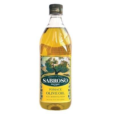 Sabroso Pomace Olive Oil 1L