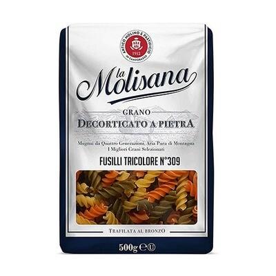 La Molisiana Tricolor Fusilli Gourmet Pasta (Italy)