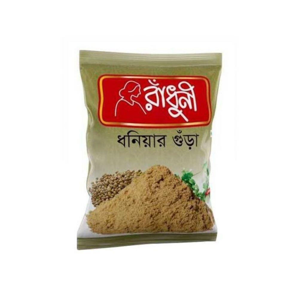 Radhuni Coriander (Dhoniya) Powder 200gm