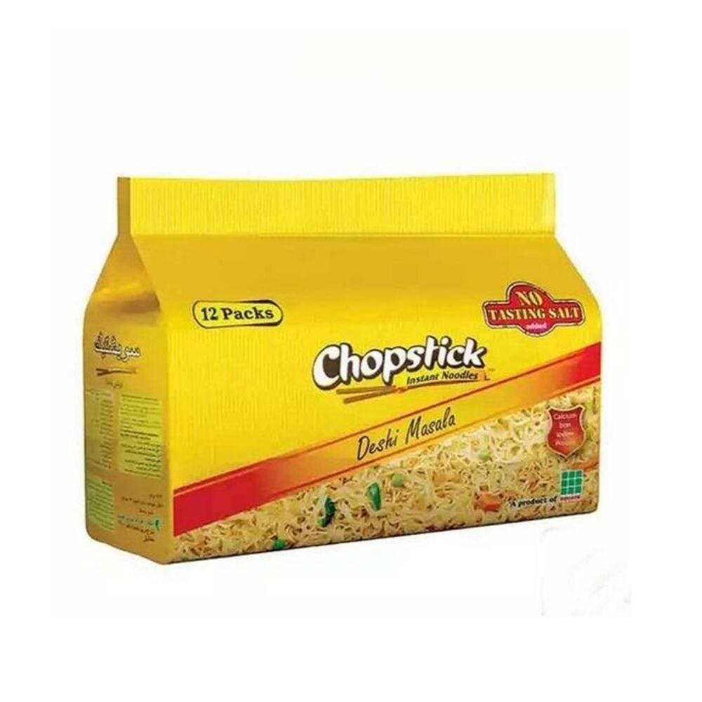 Chopstick Deshi Masala Instant Noodles 12 pack
