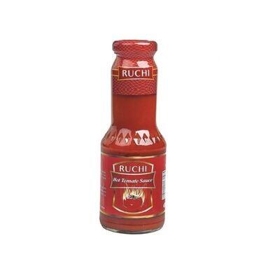 Ruchi Hot Tomato Sauce