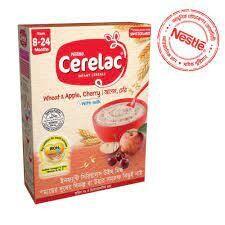 Nestlé Cerelac 2 Apple & Cherry Baby Food (8 M+)