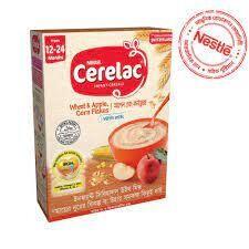 Nestlé Cerelac 4 Apple Corn Flakes (12 M+)