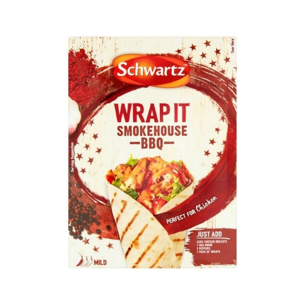 Schwartz wrap it Smokehouse BBQ