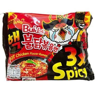 Samyang 3x Spicy Ramen Noodles
