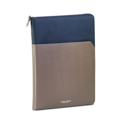 EXECUTIVE - FABRIC PORTFOLIO A4 (FABRIC+LEATHER) - GREY