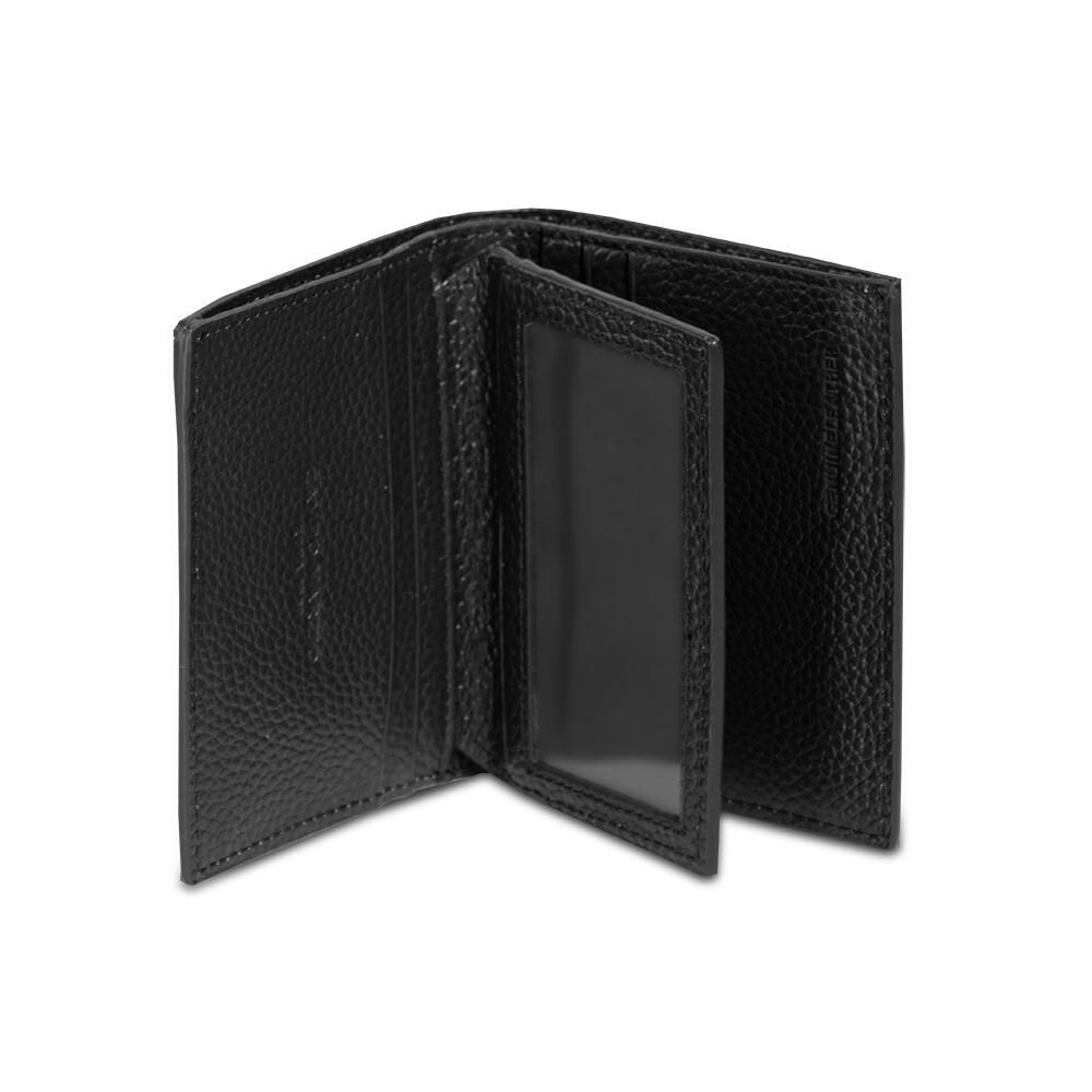 HORIZONTAL CREDIT CARD HOLDER WALLET (LEATHER)