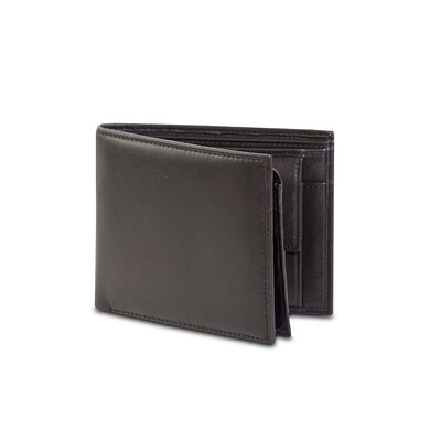 POCKET ROME HORIZONTAL WALLET W/ COIN POUCH (LEATHER)