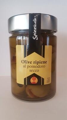 Olive ripiene al pomodoro secco