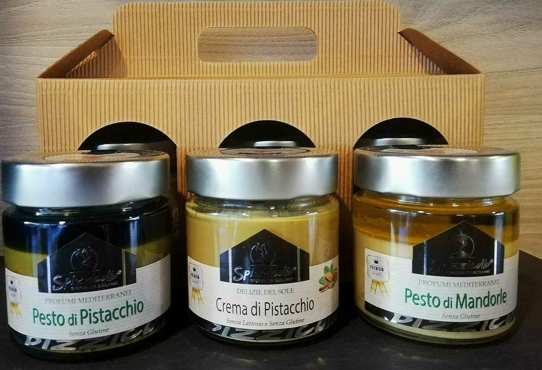 Pesto di pistacchio - Pesto di mandorla - Crema di pistacchio