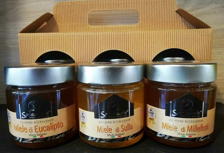 Miele eucalipto - Miele sulla - Miele millefiori