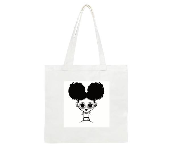 Black & White Tote bags