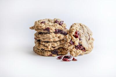 Tonnie's Oatmeal Cran-Raisin Cookies (12ct)