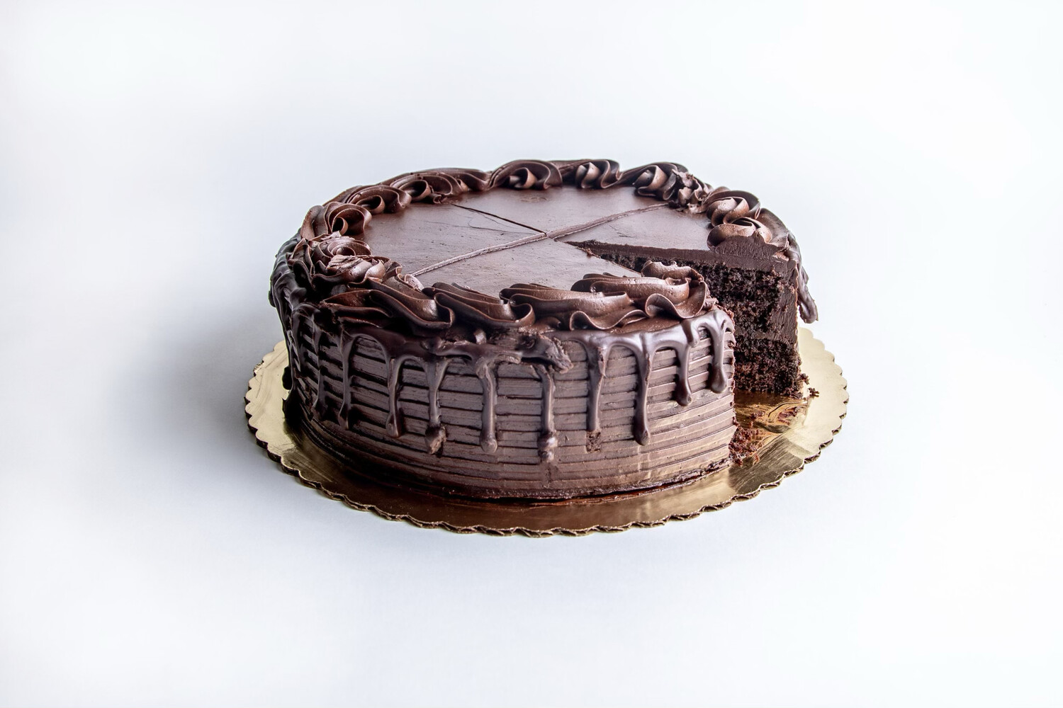 """Death By Chocolate Cake 10"""""""