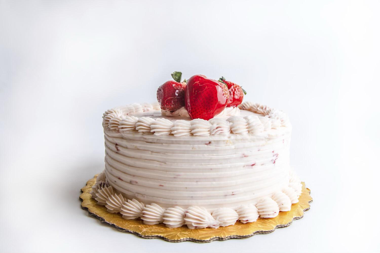 """Strawberry Twist Cake 8"""""""