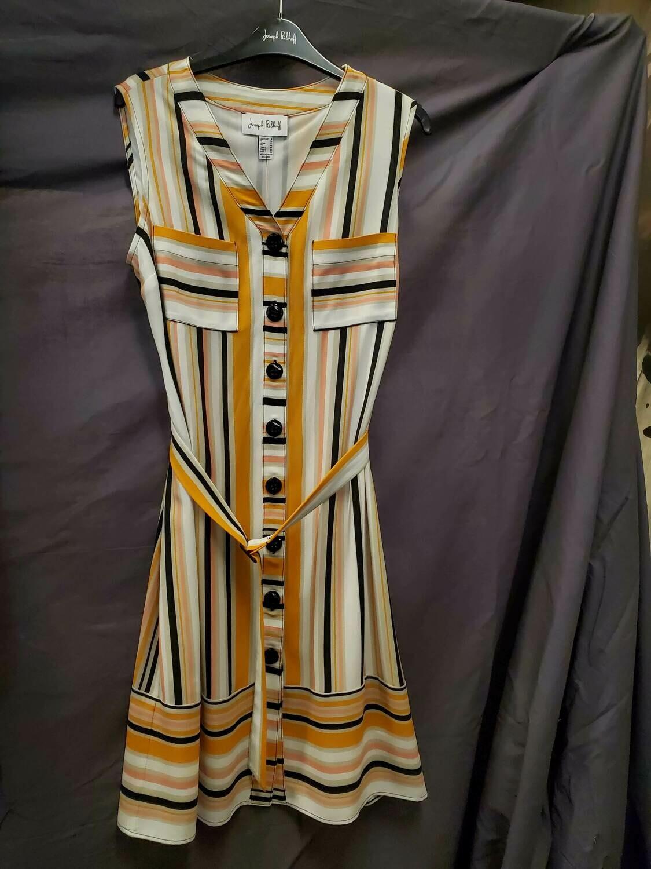 JR Stripe Sleeveless Dress