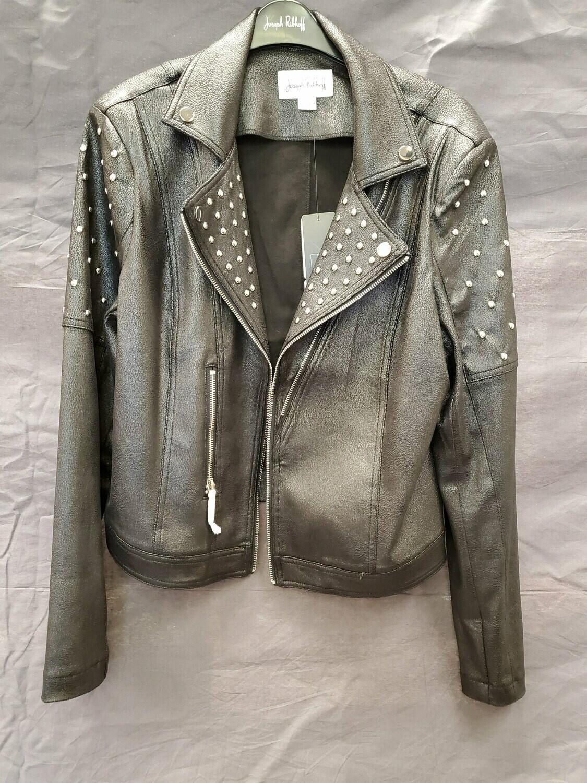JR Studded Blk Jacket