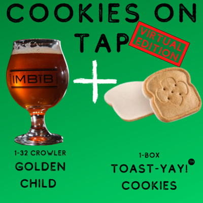 Cookies On Tap 1-pack Pairing Package-not available for pickup until 2/24