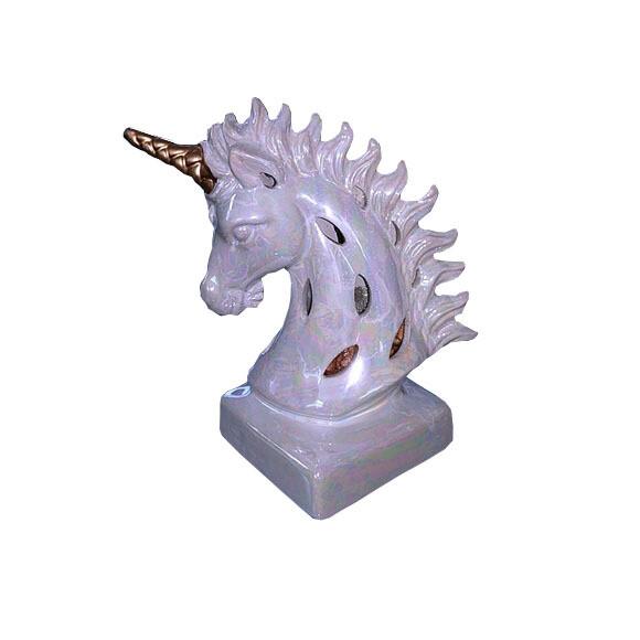 Scented Ceramic Unicorn Head