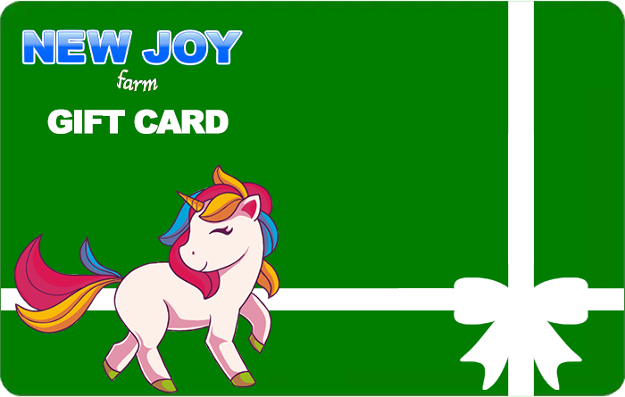 New Joy Farm Gift Card