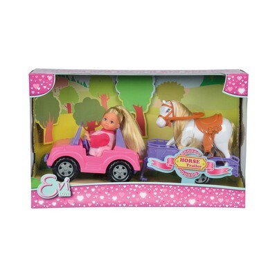 Evi Love Toy Horse & Trailer