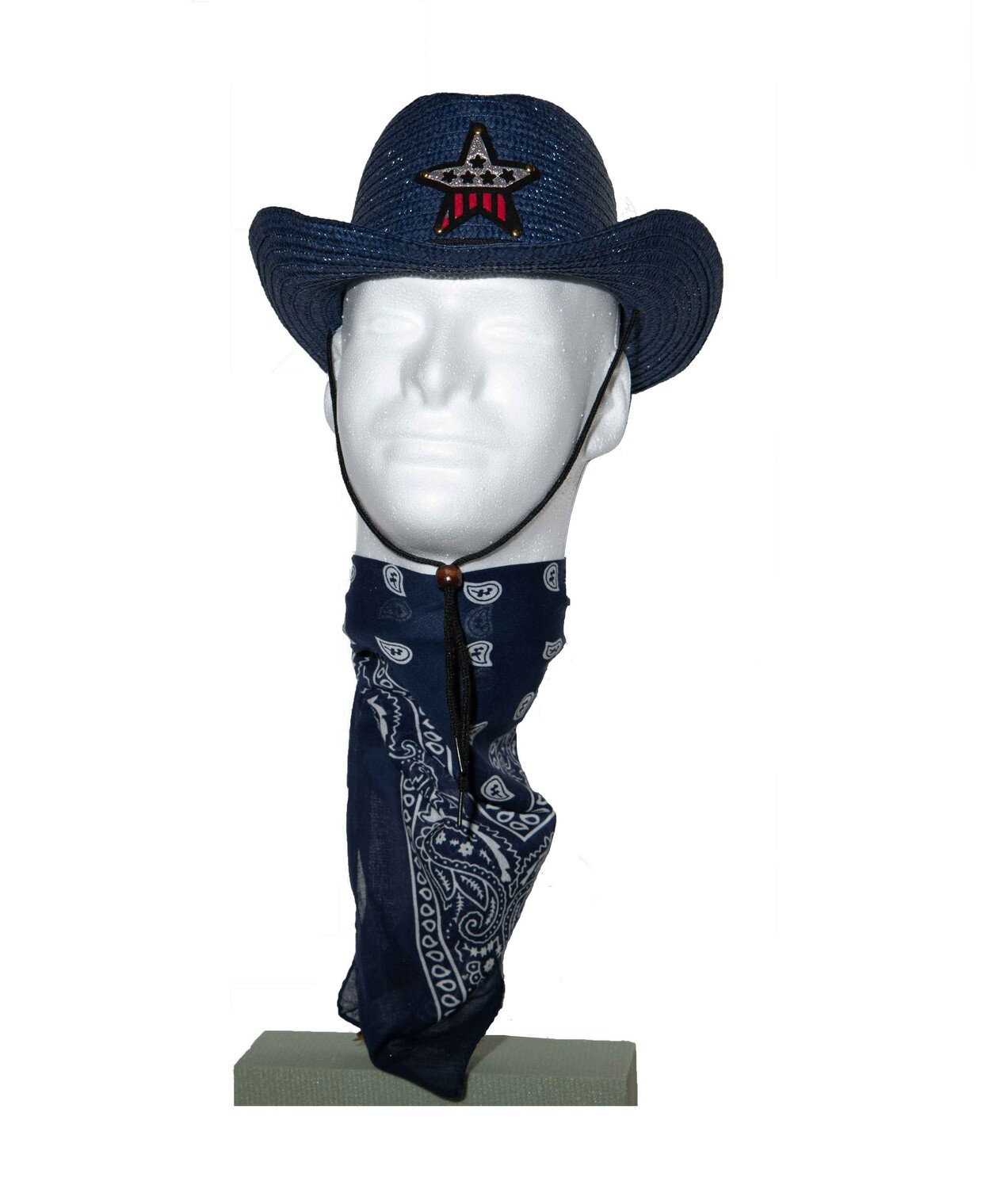 Cowboy Hat and Bandana (Bundle)