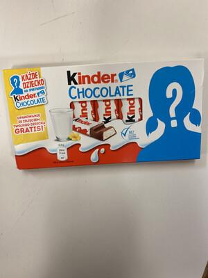 Kinder Chocolate 100gr