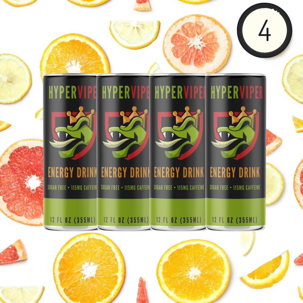 4 Pack - Citrus Venom