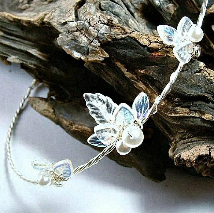 Crystal Winter Wedding Halo Princess Tiara