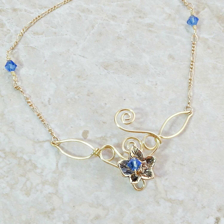 Eowyn Lady of Rohan  Ivy Leaf Necklace