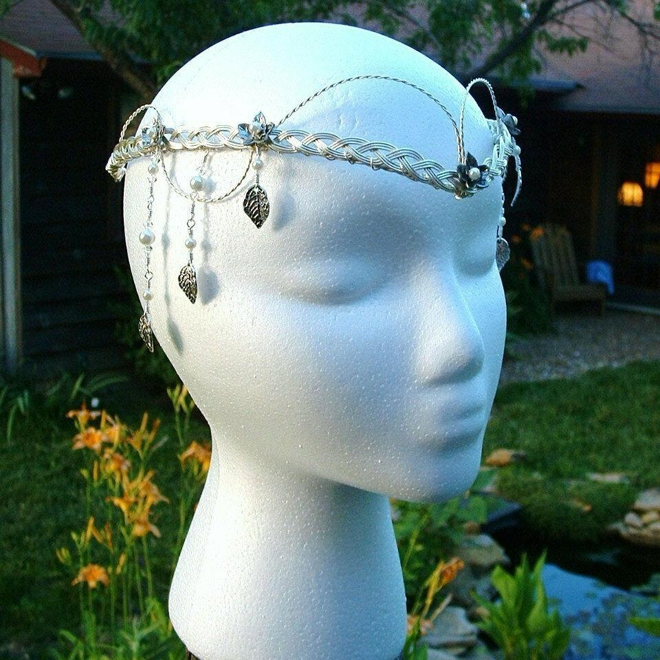 Elven Wedding Headdress Ivy Leaf Tiara