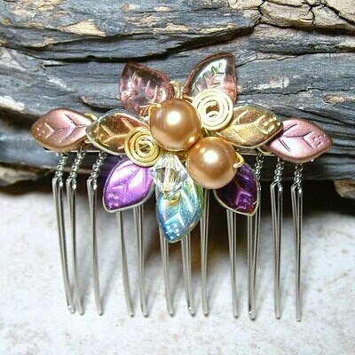 Fairytale Wedding Hair Comb Titanias Dream