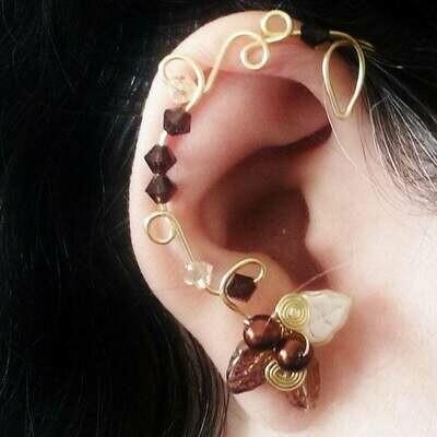 Fields of Gold Ear Cuff  Ear Climber