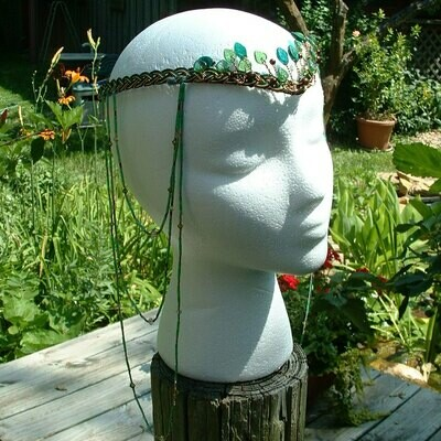 Boho Wedding Headdress Elven Woodland