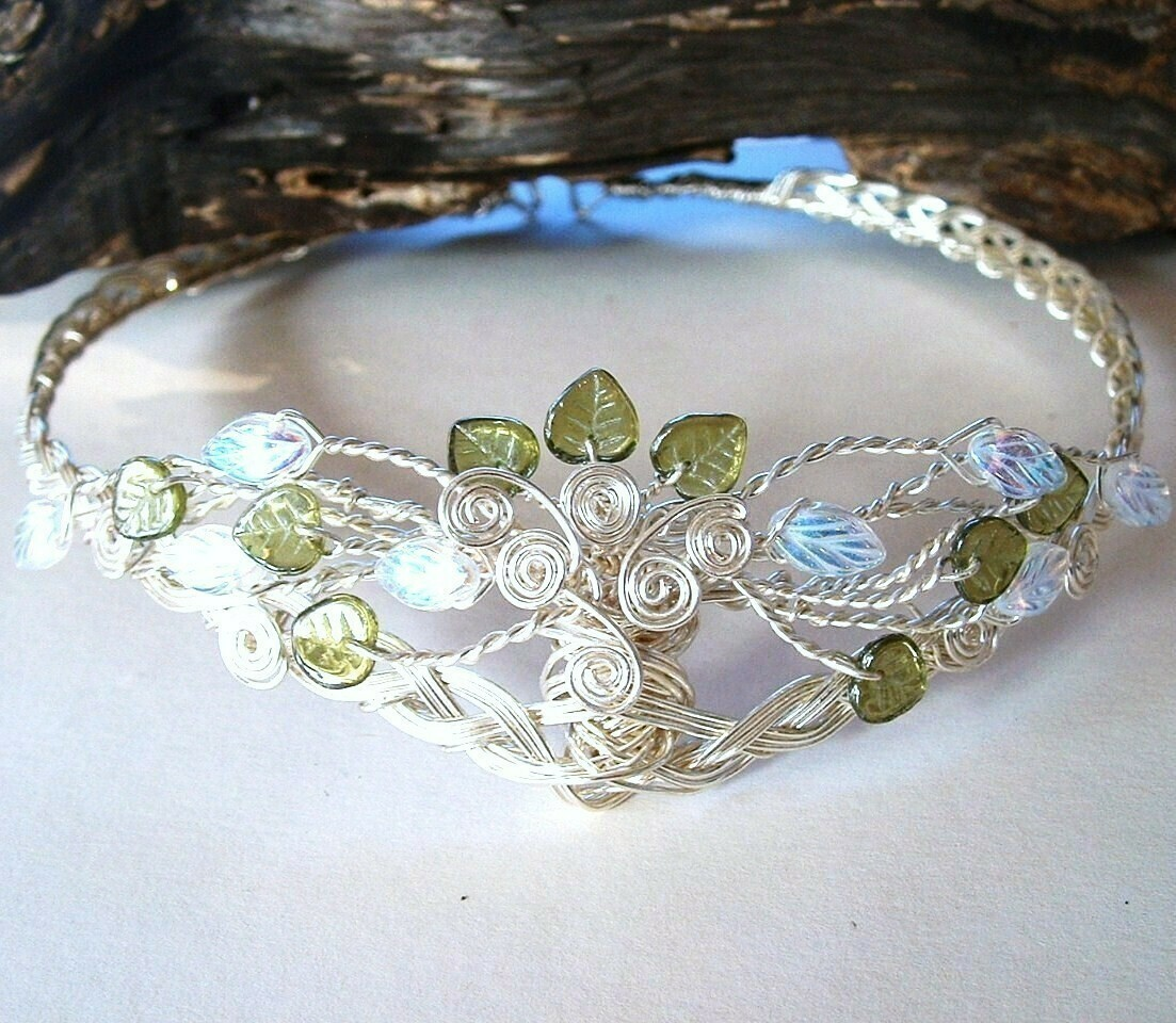 Celtic Tree of Life Yggdrasil Tiara Circlet