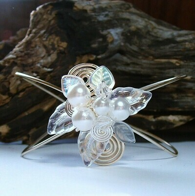 Fairytale Wedding Wrist Corsage Bracelet Arm Cuff
