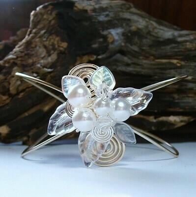 Fairytale Wedding Wrist Corsage Bracelet Arm Cuff