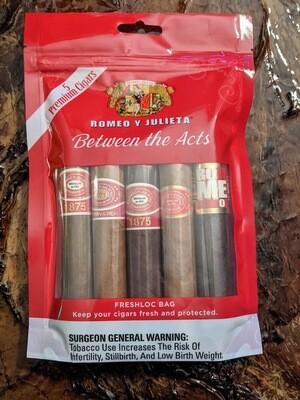 Romeo y Julieta Mixed Robusto 5 Pack