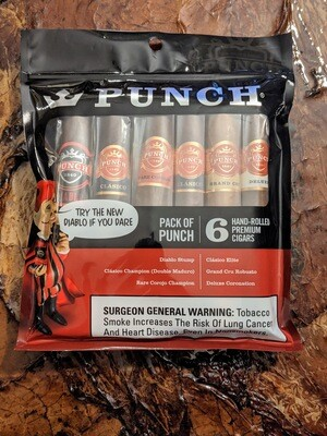 Punch Champion/Robusto Mixed 6 Pack