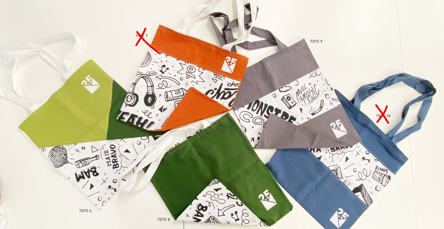 TOTE BAGS 2 - Limited Edition - NM 25