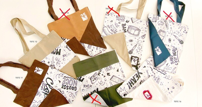 TOTE BAGS 3 - Limited Edition - NM 25