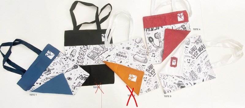 TOTE BAGS 1 - Limited Edition - NM 25