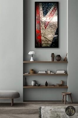 UNION JACK Venetian plaster - Medium