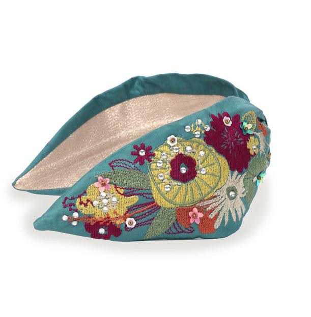Modern Floral Headband