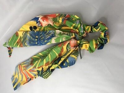 Jungle Print Scrunchie